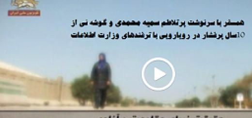پایانی بر داستان یک توطئه – حقیقت زیبای مقاومت و آزادی ، قسمت دوم- سمیه محمدی