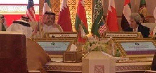 کشورهای خلیج فارس در دیدار با جان کری خواستار مقابله با تجاوزگری رژیم ایران شدند