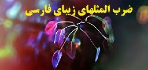ضرب المثلهای زیبای فارسی