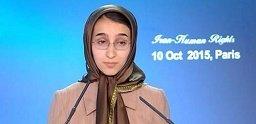 پریا کهندل- ۱۰اکتبر۲۰۱۵- پاریس- علیه اعدام