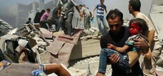 حملات روسیه به سوریه و کشتار مردم بیگناه سوری