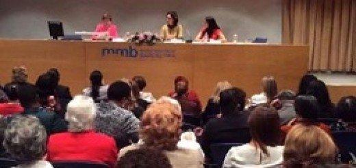 شرکت هیآت کمیسیون زنان شورای ملی مقاومت ایران در کنفرانس فدراسیون جهانی حقوقدانان زن در اسپانیا