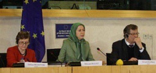 مریم رجوی در پارلمان اروپا اسفند94