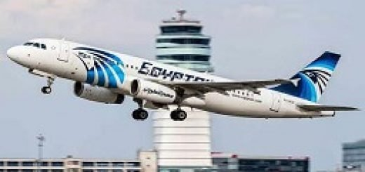 سقوط هواپیما مصر