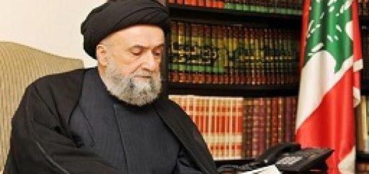 علی امین مرجع شیعه لبنان