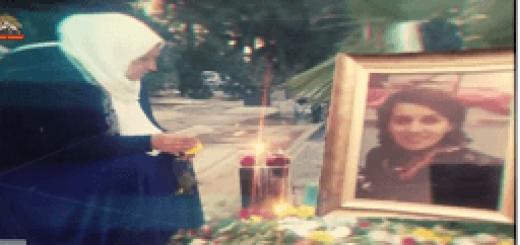 مادر ريجانه تخريب باغچه زيبا ريحانه