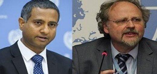 احمد شهید گزارشگر ویژه سازمان ملل