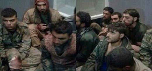 اسارت شماری از نظامیان ایرانی