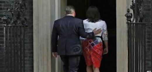 استعفای نخستوزیر انگلستان