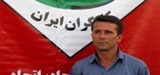 جعفر عظیم زاده زندانی سیاسی در اعتصاب