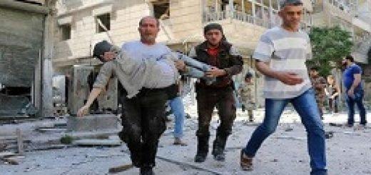 حمایت مردم حلب، از مقاومت مردم ایران