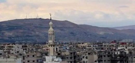 شهر محاصره شده داریا سوریه -