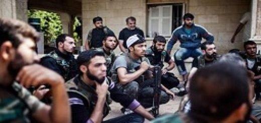 ضد حمله بزرگ رزمندگان سوریه
