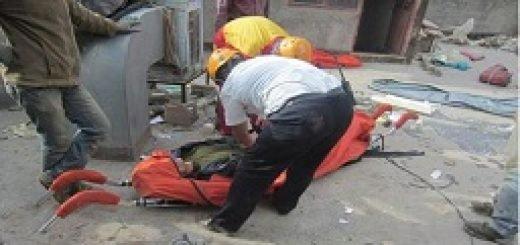 مرگ دلخراش یک کارگر