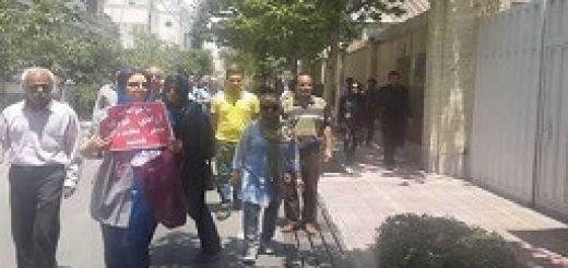 گزارش تکمیلی از تجمع اعتراض222ی
