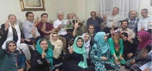 افطار حمایت نرگس محمدی