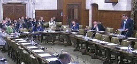 جلسه استماع پارلمان انگلستان
