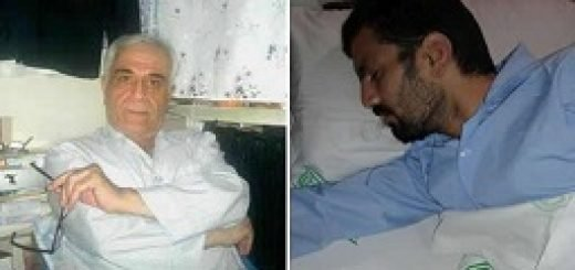 زندانیان سیاسی رسول حردانی و ارژنگ داودی