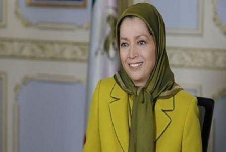مریم رجوی +تبریک عید فطر222