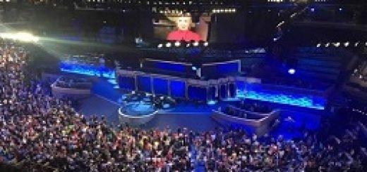 هیلاری کلینتون رسماً کاندیدای دموکراتها