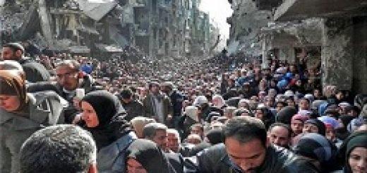 پناهجوی فلسطینی