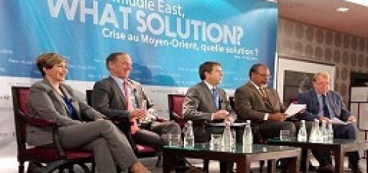 پنل سوم کنفرانس بینالمللی پاریس