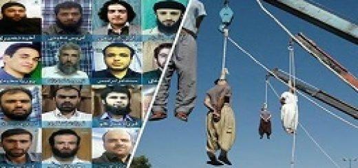 اعدام زندانیان اهل سنت توسط دژخیمان ولی فقیه ارتجاع