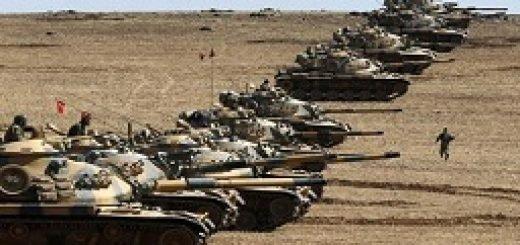 ترکیه تانک های بیشتری را به سوریه222ترکیه تانک های بیشتری را به سوریه222