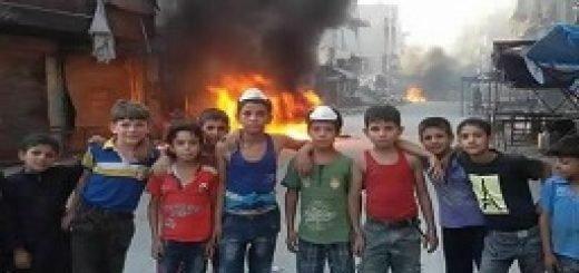 جوانان شهر حلب