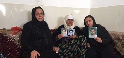 دیدار-شعله-پاکروان-با-خانواده-شهرام-و-بهرام-احمدی-در-سنندج