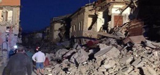 زمین لرزه ایتالیا