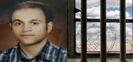 زندانی سیاسی علیرضا گلیپور در زندان اوین