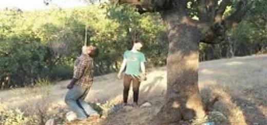 صحنه خودکشی دو جوان