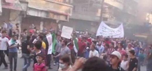 ظاهرات مردم حلب