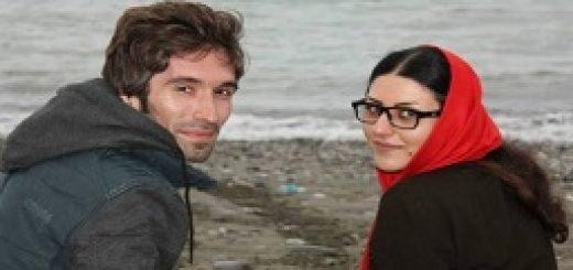گلرخ ایرایی (ابراهیمی) به همراه همسرش آرش صادقی