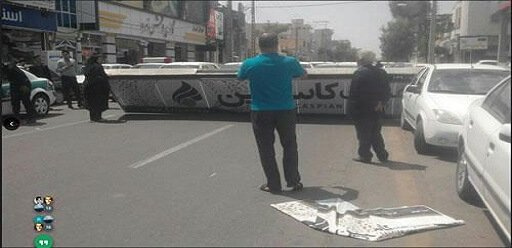 خشم و اعتراض غارت شدگان کاسپین در تهران، زاهدان و مشهد