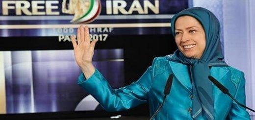 مریم رجوی رئیس جمهور برگزیده