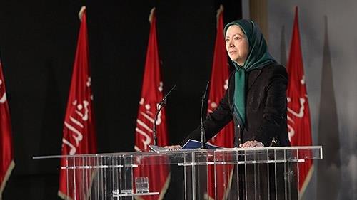 سخنرانی مریم رجوی در مراسم عاشورا - مهر ۱۳۹۶