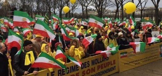 فرانسه-پاریس-تظاهرات-مجاهدین-علیه-روحانی-01