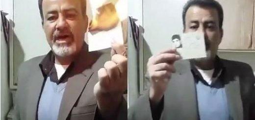تبری یک بسیجی از رژیم جنایتکار آخوندی