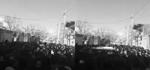 تشییع جنازه شهید قیام در دورود - آرشیو