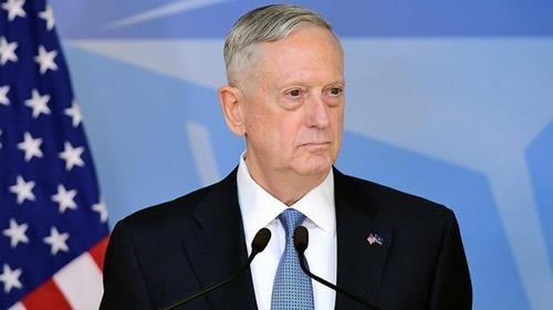 جمیز متیس، وزیر دفاع آمریکا