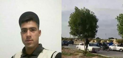دزفول - فیلم خاکسپاری شهید قیام محسن عادلی