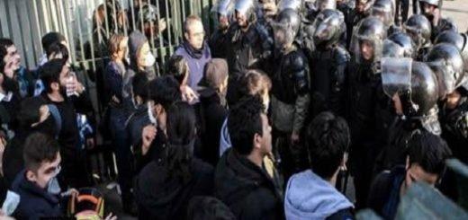 دستگیر شدگان قیام