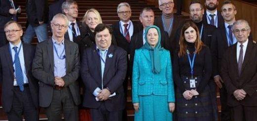 دیدار مریم رجوی از مجمع پارلمانی شورای اروپا
