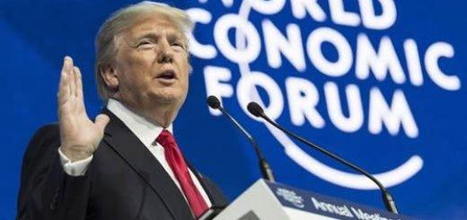 سخنرانی دونالد ترامپ در داووس