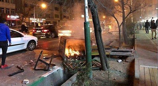 قیام ایران در تهران