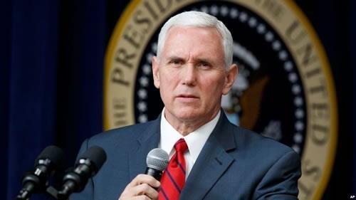 مایک پنس معاون رئیسجمهور آمریکا