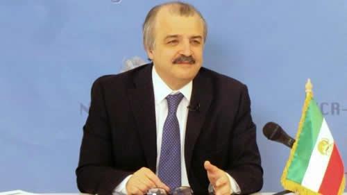محمد محدثین مسئول کمیسیون خارجه شورای ملی مقاومت ایران