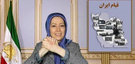 مریم رجوی رئیس جمهور برگزیده مقاومت ایران